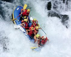 The Top 5 Rafting Rivers in the US. Rafted the New, now need to hit up at least the Colorado & the Gauley (WV).