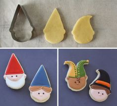 Easy Party Hat Cookies | Klickitat Street Amazing cookies + how to customize (with) cookie cutters