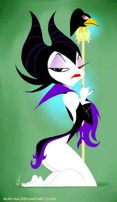 Favorite Disney Villain... Maleficent