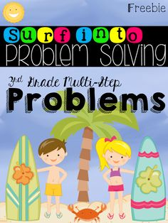 FREEBIE - Two step word problems aligned to CCSS with answer key. Check out this freebie that can be used as an assessment, homework, sub plans, etc. Fun Classroom Activities, Math Classroom, Classroom Ideas, Teaching Math, Teaching Ideas, Maths, Math Math, Math Teacher, Multiplication