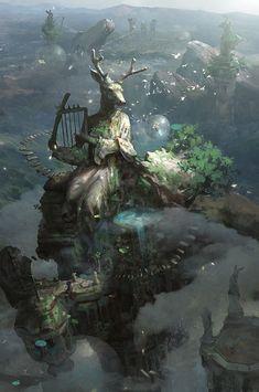 Concept Art by Rui Wang