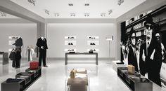 Illuminazione interna negozio - Diapson a soffitto