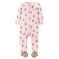 Just One You™Made by Carter's®  Newborn Girls' Sleep N Play - Pink. Image 1 of 1.