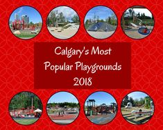 Calgarian's picks for their favourite or best outdoor playgrounds in Calgary. This list contains the most popular playgrounds in the city. Outdoor Playground, Canadian Rockies, Playgrounds, Most Popular, Travel Deals, Banff, Staycation, Travel With Kids, Calgary