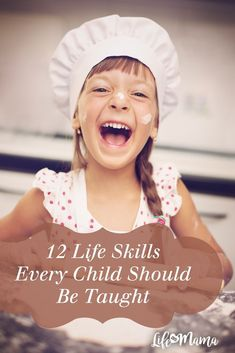 It's our job as parents to prepare our children for the real world. We are the ones who teach them the skills that they need to survive once they leave the nest. The sooner our children learn about the ways of the world, the better. To help you get started on prepping your kids, here are 12 life skills you want to make sure they learn.