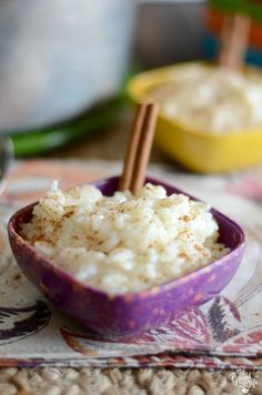Homemade arroz con leche recipe. Make this easy Mexican treat at home with a few common ingredients!