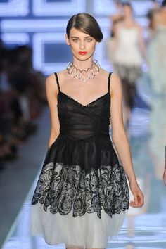 Christian Dior at Paris Fashion Week Spring 2012 - StyleBistro Paris Fashion, Runway Fashion, Beautiful Outfits, Christian Dior, Lingerie, Couture, Formal Dresses, Spring, How To Wear
