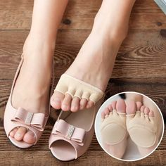 1Pair Cotton Half Insoles Pads Foot Care Insoles Forefoot Pain Relief Massaging Gel Metatarsal Toe Support Pads Insoles Forefoot Wine Shop At Home, Height Insoles, Five Fingers, Heel Pain, Socks And Heels, Floral Print Maxi Dress, Foot Pads, Feet Care, Slip