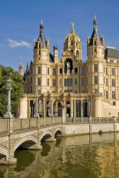 Castle Schwerin in Germany