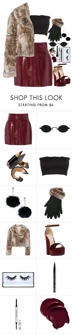 """{fancy with the family}"" by lacypond ❤ liked on Polyvore featuring Bobbi Brown Cosmetics, Kate Spade, M&Co, STELLA McCARTNEY, Steve Madden, Huda Beauty, NYX and Benefit"