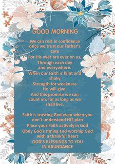 Good Morning Prayer, Happy Morning, Morning Blessings, Morning Prayers, Good Morning Wishes, Good Morning Images, Thursday Morning, Goodnight Quotes Inspirational, Inspirational Good Morning Messages