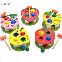 Children knocking on the table baby early education puzzle toys