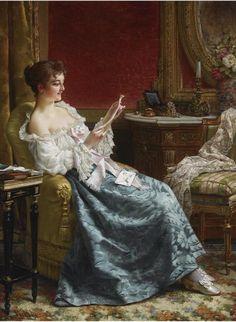 Emma Ekwall (Emma Amalia Ekwall-Scheutz;  Swedish,  1838-1925)
