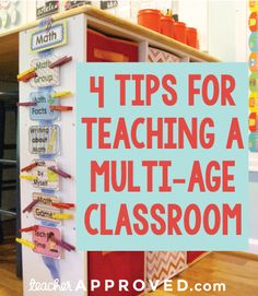 4 Tips for Teaching a Multi-Age Classroom
