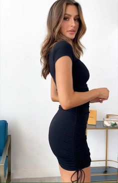 Tulle Skirt Dress, Cap Dress, Sexy Outfits, Fashion Outfits, Tight Dresses, Sexy Dresses, Edgy Dress, Dress Black, Dress And Heels