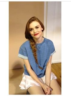 Her outfit . Her hair . Her life . Holland Roden . Teen wolf .