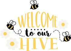Bee Quotes, Bee Painting, Bid Day Themes, Bee Creative, Bee Crafts, Bee Art, Bee Theme, Bee Happy, Mothers Day Crafts