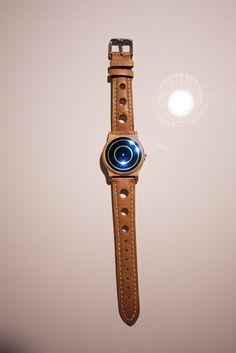 Liquid Clock Armbanduhr
