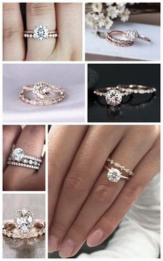 Diamond Wedding Rings WEDDING RING INSPO - Diamond Variance can be as we try to get you the best looking stone Direct Manufacture prices for diamond engagement rings for women G-H Color (Colorless), Clarity (Included) Wedding Rings Simple, Wedding Rings Solitaire, Beautiful Wedding Rings, Wedding Rings Rose Gold, Beautiful Engagement Rings, Wedding Rings Vintage, Rose Gold Engagement Ring, Bridal Rings, Vintage Engagement Rings