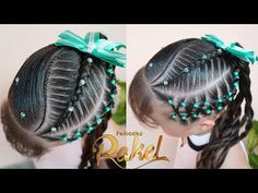 Girl Hair Dos, Girl Hairstyles, Ear, Hair Styles, Collar, Youtube, Fashion, Kid Hairstyles, Hair