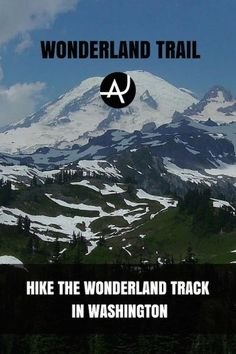 Hiking the Wonderland Trail in Washington, USA. One of the most spectacular hiking areas in the Pacific North West. A paradise for hikers & nature lovers