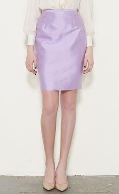 Michael Kors Lilac Skirt   VAUNTE