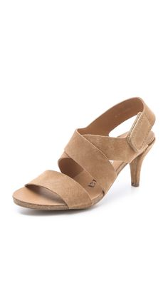 Pedro Garcia Willow Low Heel Sandals - Camel | SHOPBOP.COM saved by #ShoppingIS