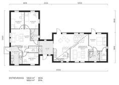 Fakta<br>Namn: Choice 146 NE<br>Typ: 1-planshus med sex rum och kök på 146.6 kvadratmeter.<br>Pris: 2 549 000 kronor. 17 387 kronor kvadratmetern.<br>Husföretag: LB-hus lbhus.se