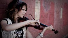 People 2560x1440 Lindsey Stirling violin musical instrument wall bracelets women celebrity