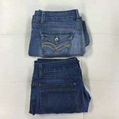 "(2pc) NINE WEST and NYDJ Capri & Ankle Jeans Just an easy way for you to get more bang for your buck.  Ask all your questions and let's get this pre-made money saving bundle home to you. Bundle Includes: NINE WEST capris (Size 8, inseam 22"", waist 15"") and NYDJ ankle jeans (size 8, inseam 28"", waist 15"") NYDJ Jeans"