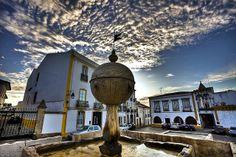 Fonte Renascença - Largo das Portas de Moura - Évora - Portugal