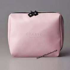 PINK CHANEL VIP COSMETICS BAG TOTE PURSE NWT. Authentic Chanel Cosmetics bag. GREAT GIFT IDEA! Pink. Great for carrying cosmetics or organizing your essentials inside your purse!   Makes purse changes much easier! Not  available in stores, only available to VIP customers. Comes with box! Please, no trades. I only accept offers made via the offer button. Thank you. CHANEL Makeup