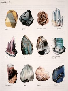 rocks, minerals, and stone image