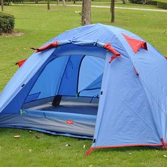 Naturehike NH Waterproof Outdoor Camping Tent 2 Person Double Layer Portable Ultralight 3 Season with Aluminium Alloy Tent Pole