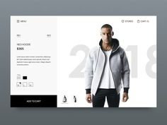 Online store web design designed by Jerry Li. Connect with them on Dribbble; Web Design Trends, Web Design Color, Modern Web Design, Logo Design, App Design, Layout Design, Fashion Web Design, Design Websites, Website Design Inspiration
