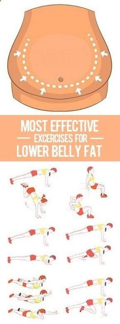 Most Effective Exercises for Lower Belly Fat. www.4myprosperity...
