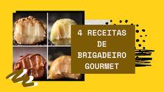 Você é fã de brigadeiros? Acredito que sim! O doce brasileiro mais famoso e adorado do mundo ganha diversas versões. A seguir, você verá 4 receitas de brigadeiro gourmet que irão te deixar com água na boca.  #recipes #food #receitas #foodrecipes #doces #docesfinos #docesgourmet #brigadeiro #brigadeirogourmet #brasil Creme Brulee, Sim, Blog, Vegetarian Recipes, Tailgate Desserts, Recipes, Blogging