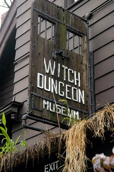 Witch Dungeon and Museum. Salem./Never again the Burning Times