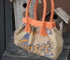Tutorial Boutique: Sewing with Burlap Potato Sacks