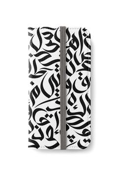"""""""Callig. Art"""" iPhone Wallets by wowarts   Redbubble   #wowarts #wowartworks  #واو_آرت #redbubble #arabiccalligraphy #arabic #letters #freestylefont #calligrafitti #عربي #كاليجرافي #حروف #خط_حر #Cases #iphone #iphonewallet #iphonecase #accessories"""