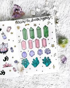 Drawings 50 Stunningly Easy Bullet Journal Doodles You Can Totally Recreate Bullet Journal Flip Through, How To Bullet Journal, Bullet Journal Inspiration, Journal Ideas, Planner Doodles, Bujo Doodles, Doodle Drawings, Doodle Art, How To Doodle