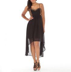 Hi Low Hem Tank Dress - Must Have Fashions - Events