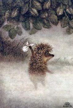 """Hedgehog in the Fog"" (Russian cartoon)"