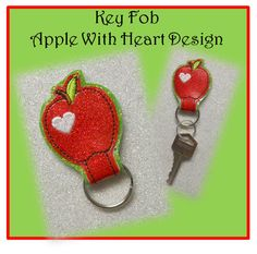 This adorable key fob can be made with vinyl or Fun Shades of Craft Felt. Comes with step by step instructions with pictures. Great gift for