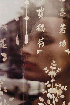 Saul Leiter Color Photograph, Carol Brown