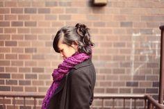 JennifHsieh #hair #scarf #ootd #winter #fashion