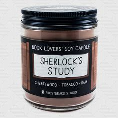 Sherlock's Candle︱Soy Candle︱Book Candle︱Scented Candle︱Bookish Candle︱Book Lover Gift︱Bookish Gift︱Frostbeard by Frostbeard Perfume Diesel, Book Lovers Gifts, Gift For Lover, Book Gifts, Soy Candles, Scented Candles, 221b Baker Street, Teacher Favorite Things, Dating