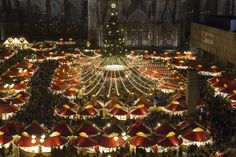 Christmas markets in Cologne  (Image via thefivefsblog on blogspot)