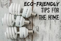 I'm really lazy, so if I'm telling you that these eco-friendly tips are easy, you know it's true. #EarthDay