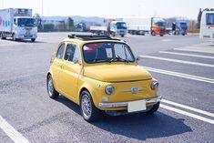 「ルパン三世 カリオストロの城」の世界から飛び出してきたような、日本車の血も混じった1971年式Fiat・500L GAZOO.com